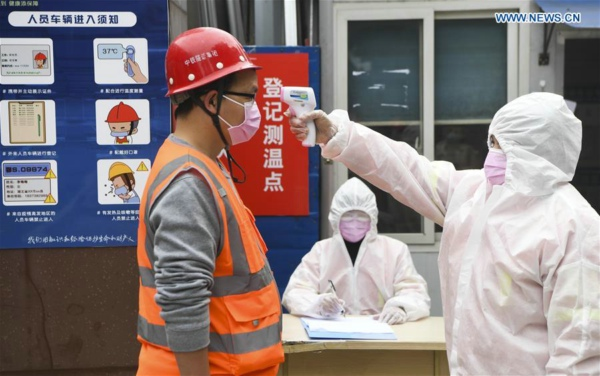 China passes outbreak climax as new cases keep declining